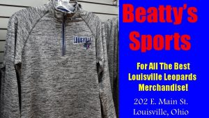 Beatty's Grey Striped Long Sleeve