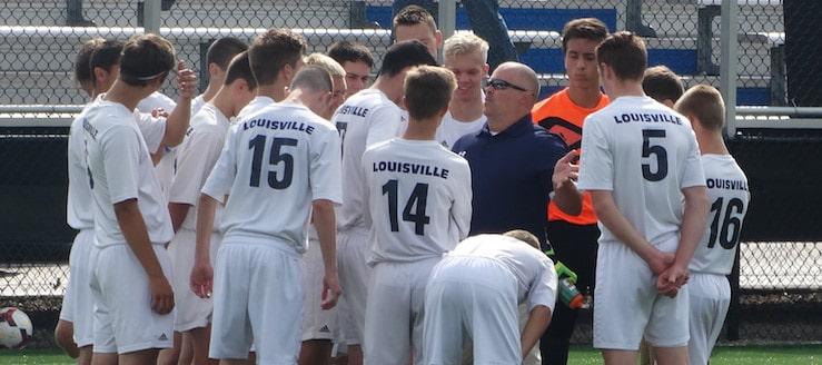 Coach John Henkel Louisville Leopards Boys Soccer 2016