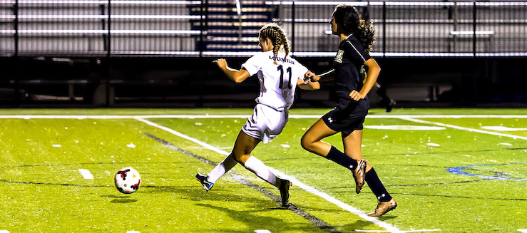 Kayla Gibson Louisville Leopards Vs. Perry Panthers Girls Soccer Tournament 2016