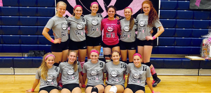 Louisville Leopards Volleyball NBC Champions 2016