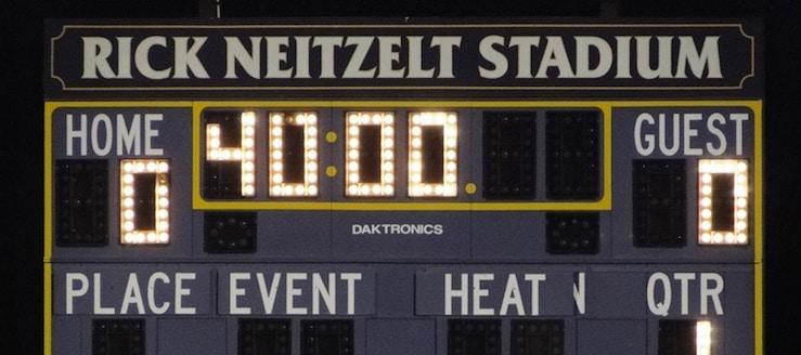Rick Neitzelt Stadium Scoreboard - Jackson Polar Bears Soccer