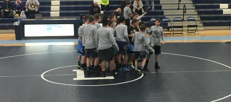 Louisville Leopards Middle-School-Wrestling Vs. Alliance 2016