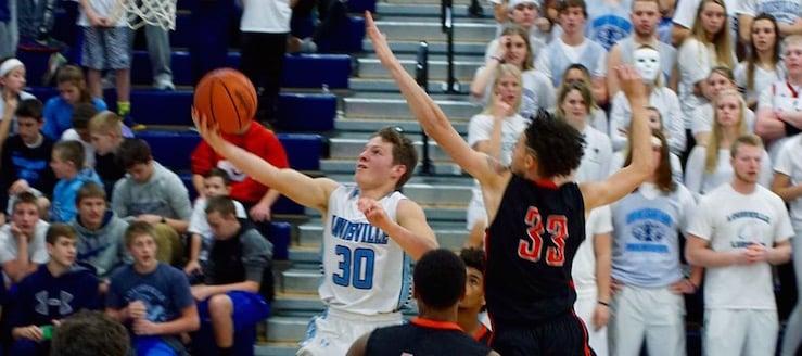 Max Hartline Louisville Leopards Basketball Vs. Canton McKinley Bulldogs