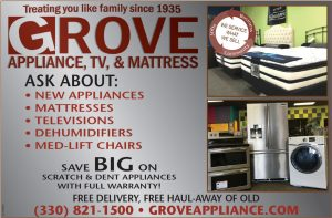 Grove Appliance Alliance Ohio Ad