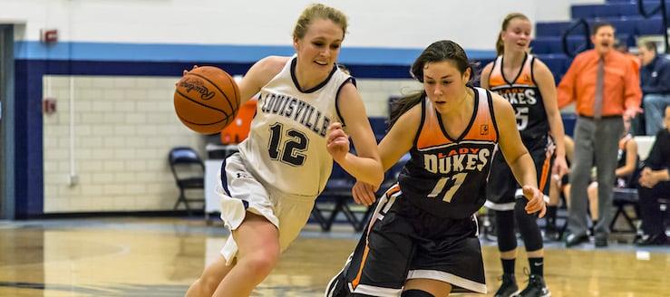 Sarah Lairson Louisville Leopards Vs. Marlington Dukes Girls Basketball 2017