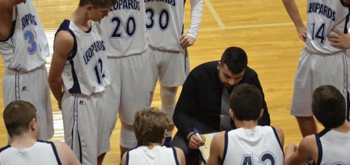 Austin Shaheen Coaches Louisville Leopards Boys Freshman Basketball in NBC Tournament
