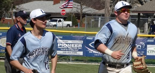Casey Nau & Nathan Mongiardo Louisville Leopards Baseball 2016