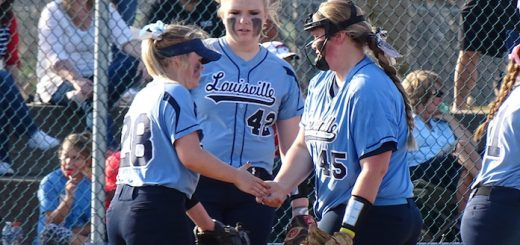 Sarah Cantley and Teagan Rice Louisville Leopards Softball 2017