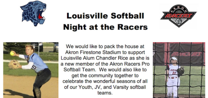 Leopards Softball Night at the Akron Racers 2017