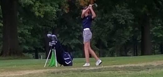 Abby Vanicek Louisville Leopards Girls Golf at Tannenhauf 2017