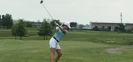 Felicity Adkins Louisville Leopards Girls Golf at Legends 2017