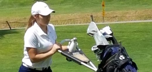 Madyson Fowler Louisville Leopards Girls Golf at Spring Hill