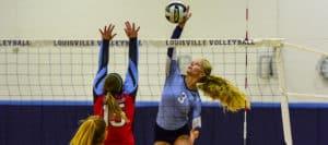 Cami Nau Louisville Leopards Volleyball 2017 Vs. Alliance Aviators