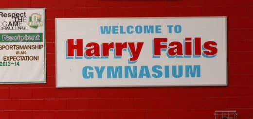 Harry Fails Gymnasium Sign - Alliance Aviators Gym