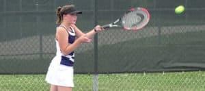 Jo Menegay Louisville Leopards Girls Tennis 2017