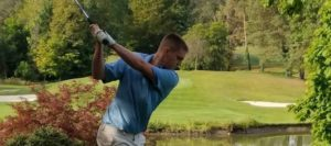 Justin Shafer Louisville Leopards Boys Golf at NBC Tournament 2017