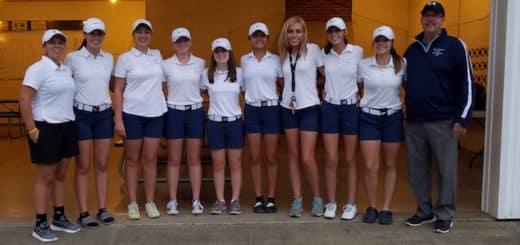 Louisville Leopards Girls Golf Team 2017