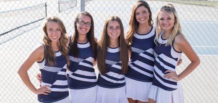 Louisville Leopards Girls Tennis Seniors 2017