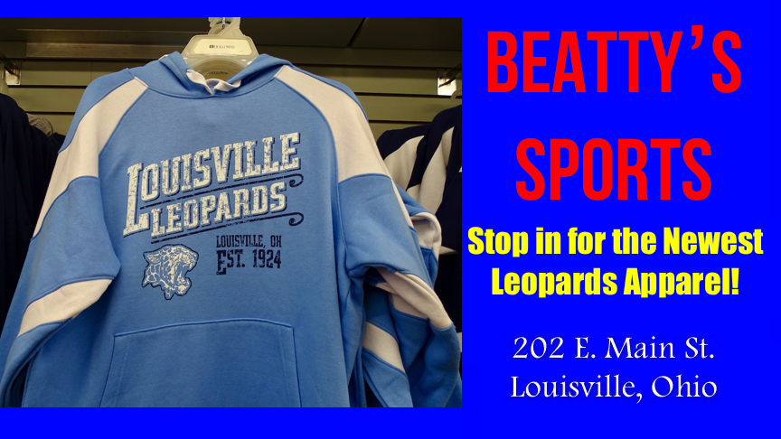 Louisville Leopards Light Blue Hoodie Established 1924 - Beatty's Sports Fall 2017