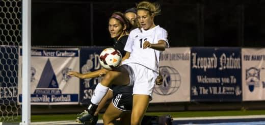 Kayla Gibson Louisville Leopards Girls Soccer Vs. Canfield Cardinals 2017