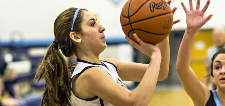Rachel Israel Louisville Leopards Girls Basketball 2016-17 Vs. Alliance Aviators