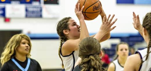 Ellie Jackson Louisville Leopards Vs. Alliance Aviators Girls Basketball 2016-2017