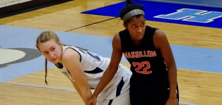 Erin Hahn Louisville Leopards Vs. Massillon Tigers 2016 Girls Basketball