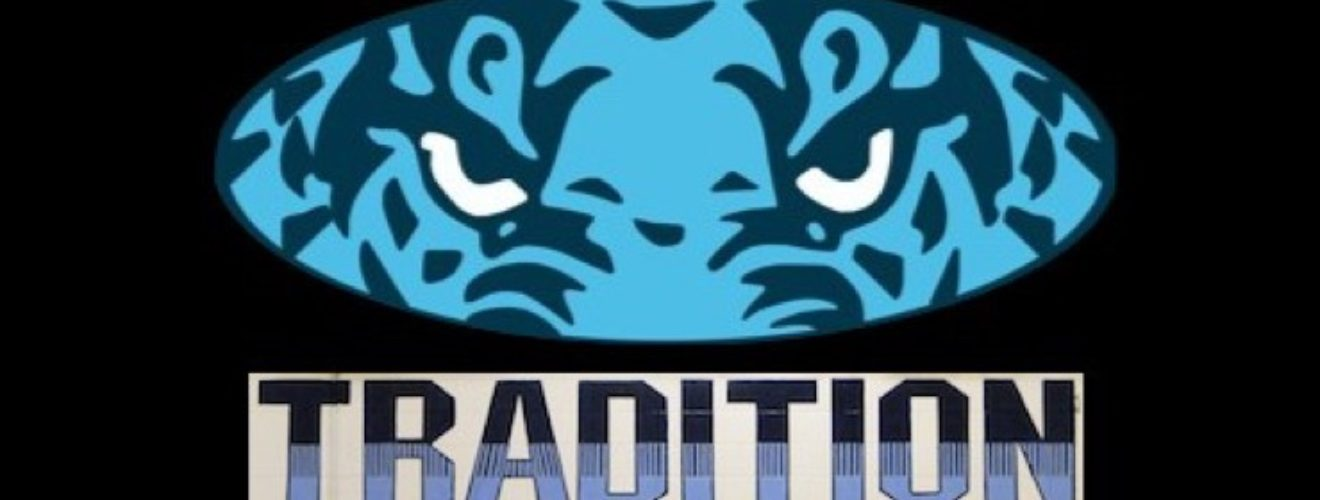 Louisville Leopards Boys Basketball Eyes and Tradition Logo Banner