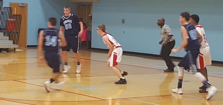 Louisville Leopards Boys Freshman Basketball at Alliance Aviators 2017
