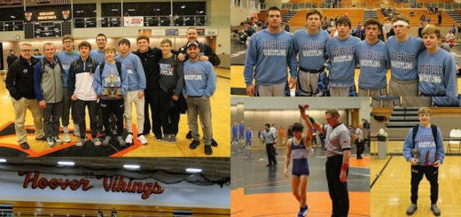 Louisville Leopards Wrestling at North Canton Holiday Tournament 2017