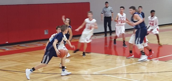 Louisville Leopards at Canton South Wildcats Boys Freshman Basketball 2017