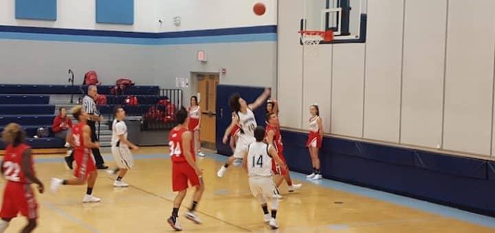 Michael Ball Louisville Leopards Freshman Basketball Vs. Minerva Lions 2017