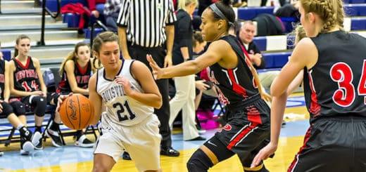 Ellie Jackson Louisville Leopards Girls Basketball Vs. New Philadelphia Quakers 2016-2017