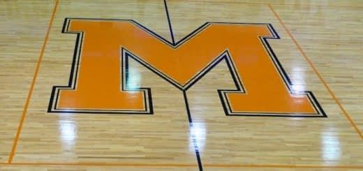 Marlington Dukes Gym Center Court Logo