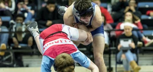 Ryan Jakubiak Louisville Leopards Vs. Alliance Aviators Wrestling Tournament 2018