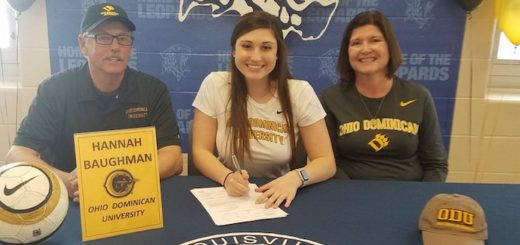 Hannah Baughman Signing with Ohio Dominican University to play Soccer