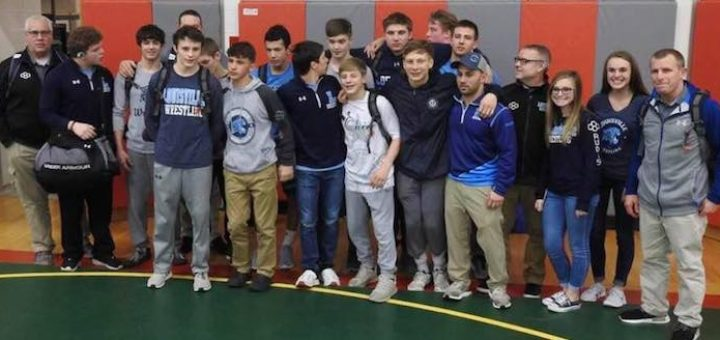 Louisville Leopards Wrestling 2018 Sectional Tournament Champions