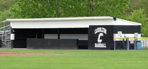 Carrollton Warriors Baseball Dugout