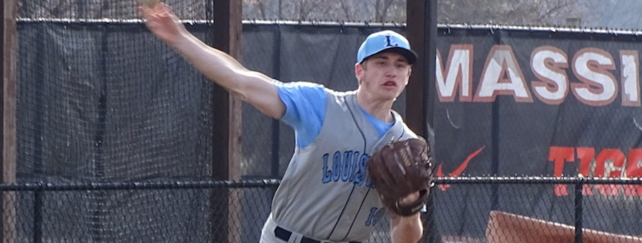 Dillon Rebuck Louisville Leopards at Massillon Tigers Baseball 2018
