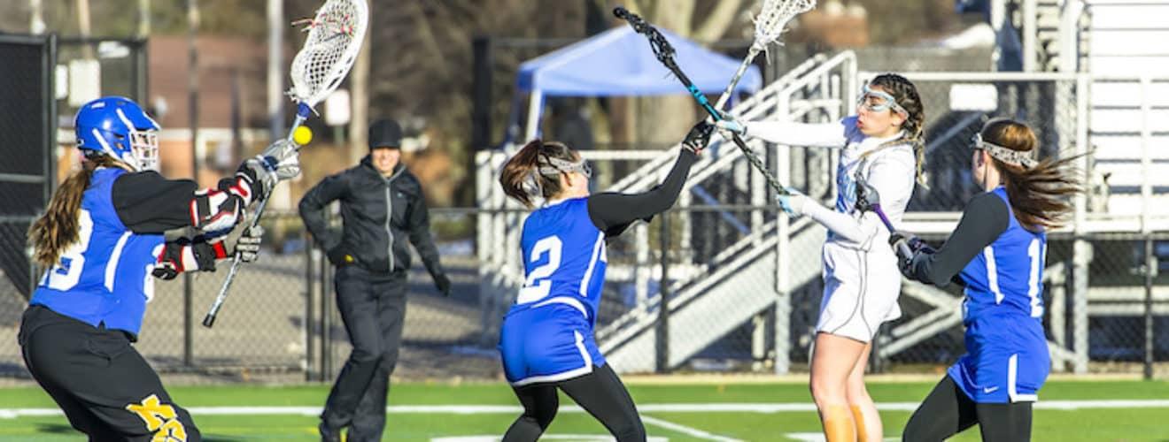 Haley Black Louisville Leopards Vs. Lake Blue Streaks Girls Lacrosse 2018