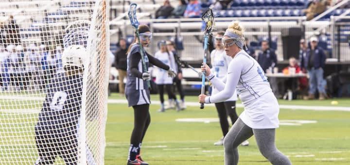 Katie Hollifield Louisville Leopards Girls Lacrosse Vs. Kenston Bombers 2018