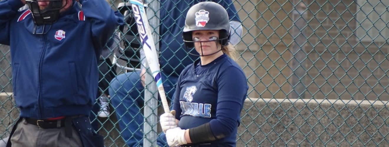 Lauren Bennett Louisville Leopards Softball 2018 Vs. Minerva Lions