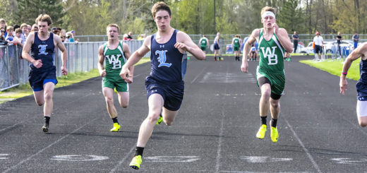 Nathan Guiley Louisville Leopards Track Vs. West Branch Warriors 2017