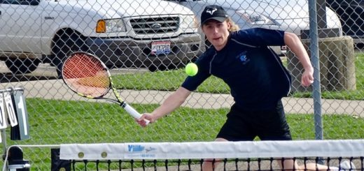 Nick Eneix Louisville Leopards Boys Tennis Vs. Marlington Dukes 2018