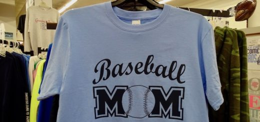 Baseball Mom Shirt Banner