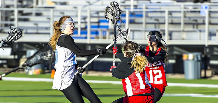 Mandy Wesely Louisville Leopards Girls Lacrosse Vs. Canfield Cardinals 2017