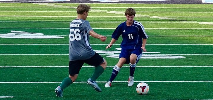 Blake Varner Louisville Leopards Vs. Nordonia Knights Boys Soccer Scrimmage 2018
