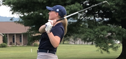 Karli Redinger Louisville Leopards Girls Golf Vs. Boardman Spartans 2018
