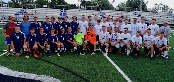 Louisville Leopards Boys Soccer Alumni Game 2018