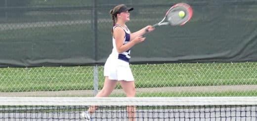 Jo Menegay Louisville Leopards Vs. St. Thomas Aquinas Knights Girls Tennis 2018 Season